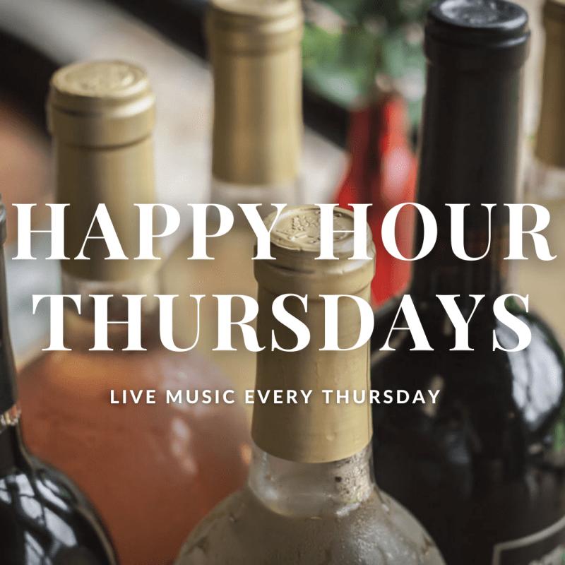 Happy Hour Thursdays