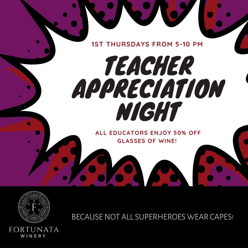 Fortunata Teacher Appreciation Night