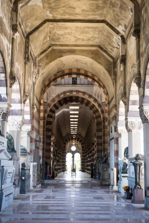 Cimitero Monumentale, Milan, Italy