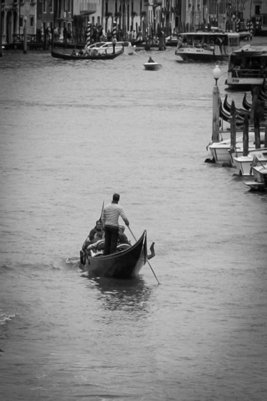 Gondola ride in Venice, Italy on northtosouth.us