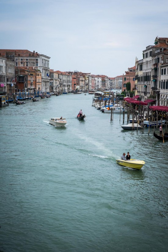 Grand Canal in Venice, Italy on northtosouth.us