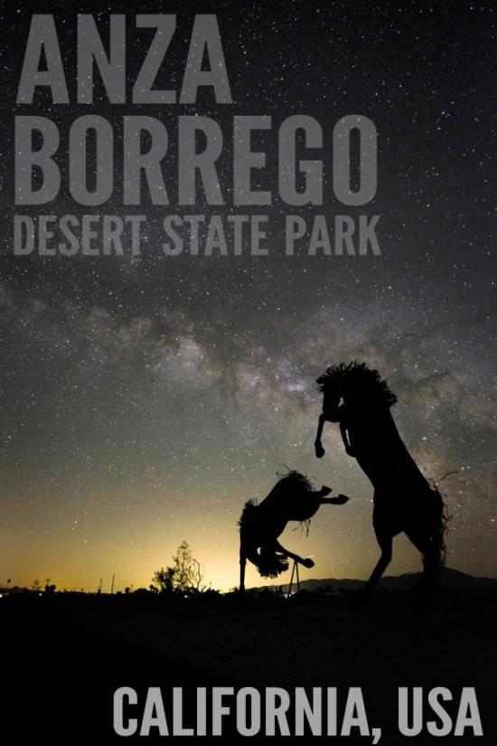 Anza Borrego Desert State Park, California, USA on northtosouth.us