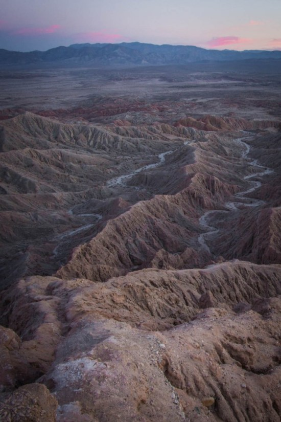 Font's Point, Anza-Borrego Desert State Park, California, USA on northtosouth.us