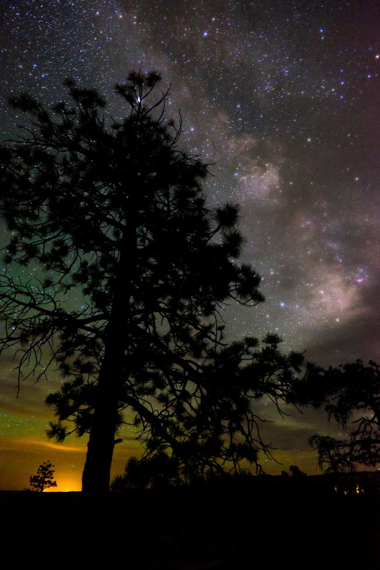 The Milky Way at Bryce Canyon National Park, Utah, USA on northtosouth.us