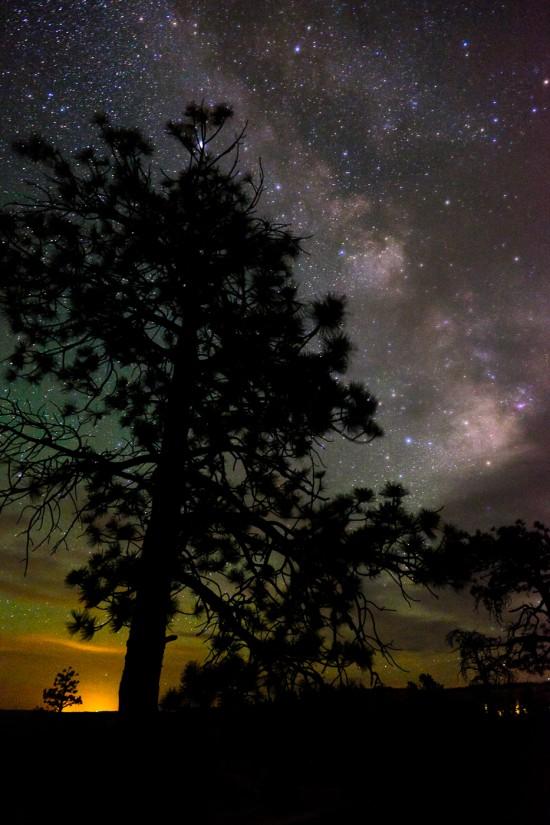The Milky Way at Bryce Canyon National Park, Utah, USA on northtosouth.us