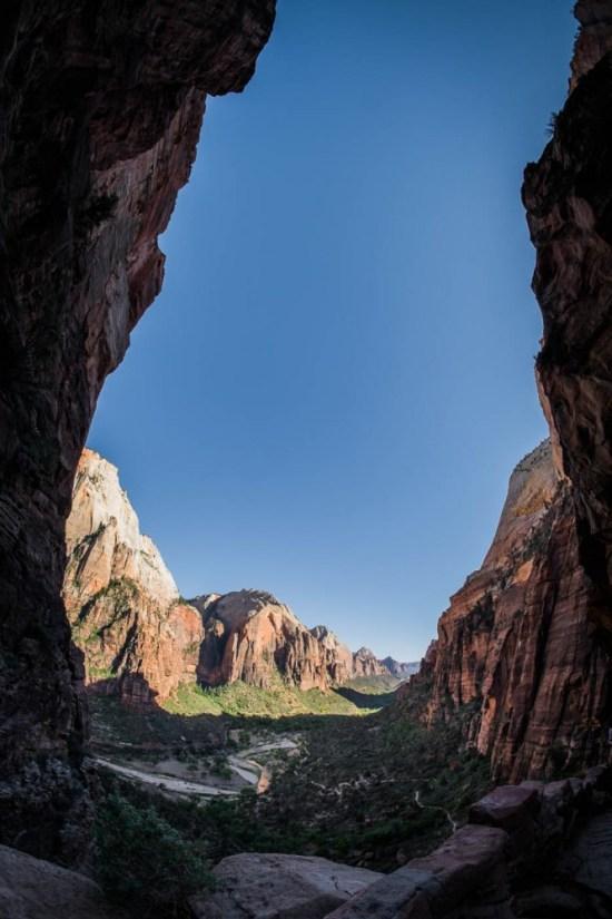 Hike to Angels Landing, Zion National Park, Utah, USA on northtosouth.us