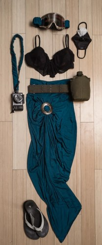 Women's Burning Man outfit on northtosouth.us