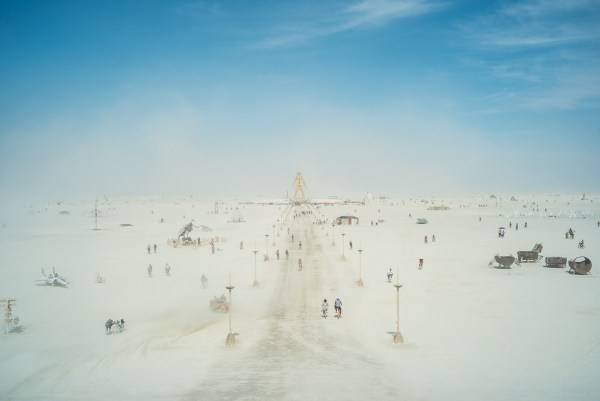 The Man in the Dust, Burning Man 2014: In Dust We Trust - Photos of a Dusty Playa