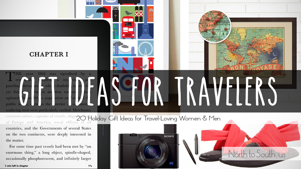 20 Holiday Gift Ideas for Women & Men Who Love to Travel