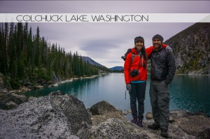 Ian and Krystin at Colchuck Lake, Washington