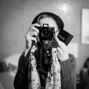 Diana with her new RX-100 III