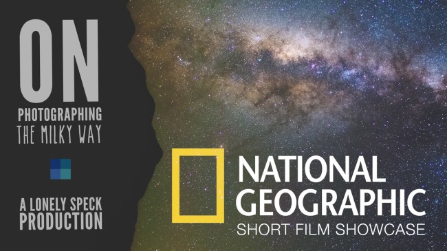 On Photographing the Milky Way short film