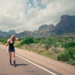 Diana Southern at Big Bend National Park, Texas by Ian Norman