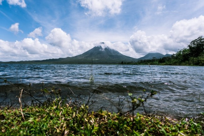 Sony RX-100 III photography sample: Arenal volcano landscape photo at Arenal Lake, Costa Rica