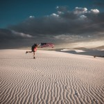 Diana Southern at White Sands National Monument by Ian Norman
