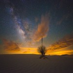 Milky Way at White Sands National Monument by Ian Norman