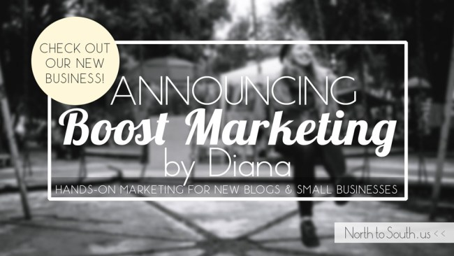 Announcing Boost Marketing by Diana Southern