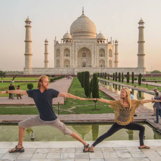 Featured Travel Couples on North to South: The Yoga Nomads [Interview 3]
