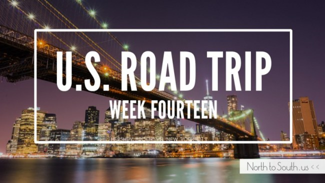 North to South U.S. road trip recap week fourteen
