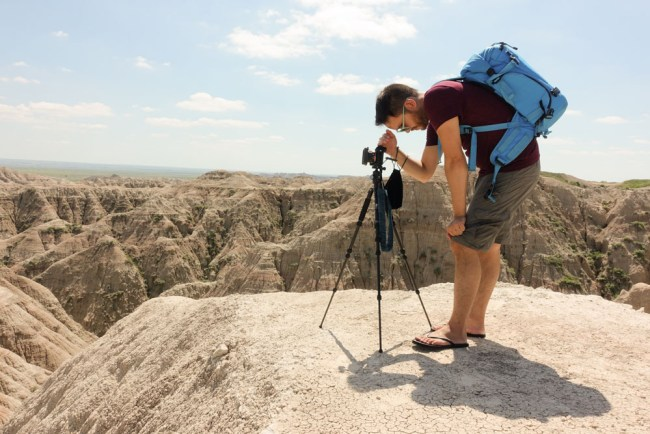 Ian Norman landscape photography at Badlands National Park