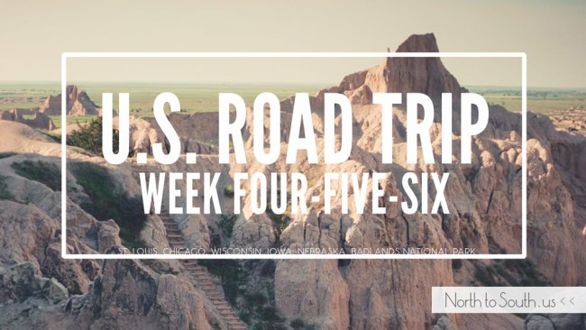 North to South U.S. road trip recap weeks four, five and six