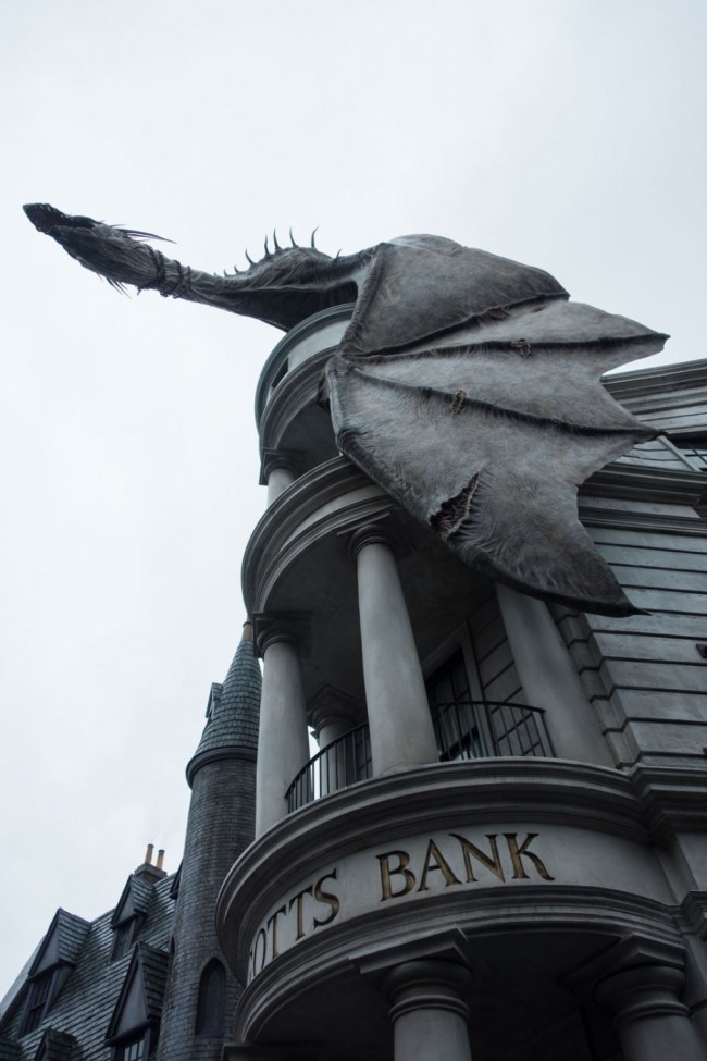 Harry Potter and the Escape from Gringotts ride at Universal Studios Florida