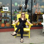 Adirondack chair in Old Forge