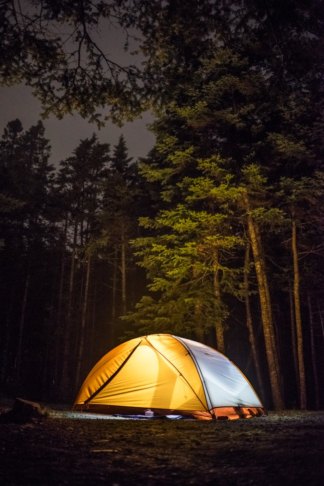 Camping in Acadia National Park