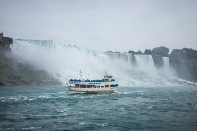 Maid of the Mist at Niagara Falls U.S.