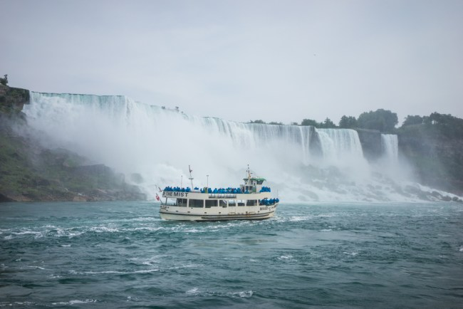 Maid of the Mist at Niagara Falls U.S.