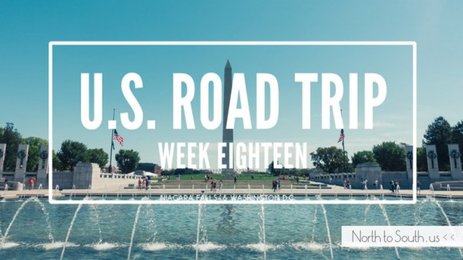 North to South U.S. road trip recap week eighteen