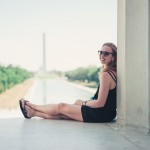 North to South U.S. road trip recap week eighteen | View of Reflecting Pool and Washington Monument from Lincoln Memorial