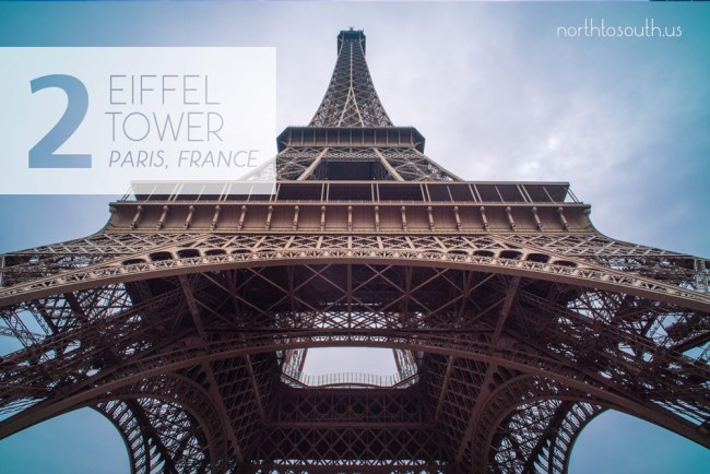 Taking the Stairs: 10 Breathtaking Viewpoints to Hike to in Europe: Eiffel Tower (Paris, France)