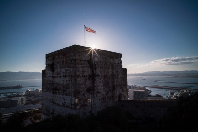 Hiking to the Top of the Rock of Gibraltar | Moorish Castle at sunset
