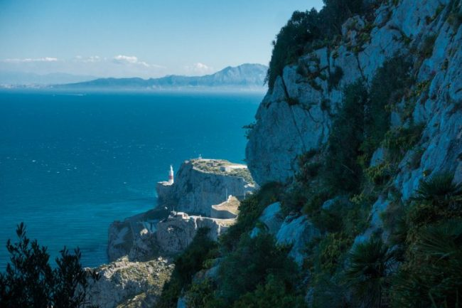 Hiking to the Top of the Rock of Gibraltar via the Mediterranean Steps
