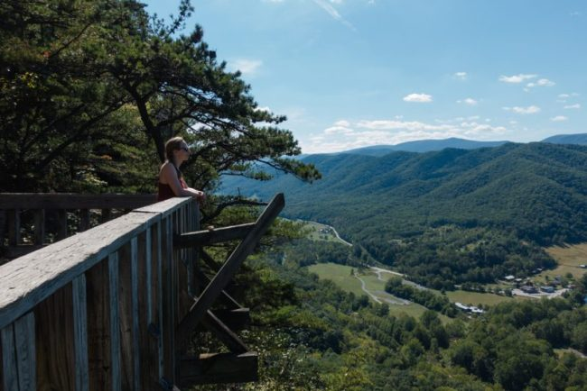 U.S. Road Trip Re-Cap: Week Nineteen -- Hiking at Seneca Rocks, West Virginia