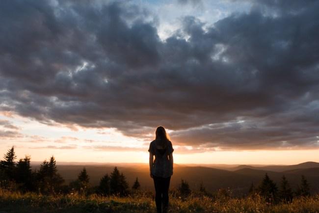 U.S. Road Trip Re-Cap: Week Nineteen -- sunset at Spruce Knob in West Virginia