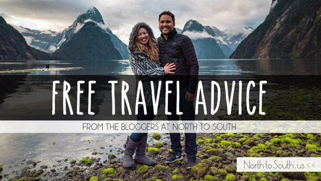 Free Travel Advice from the Bloggers at North to South
