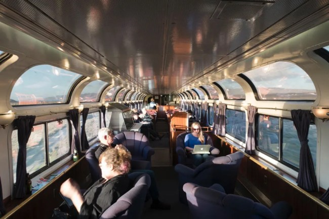 Coast Starlight Parlour Car