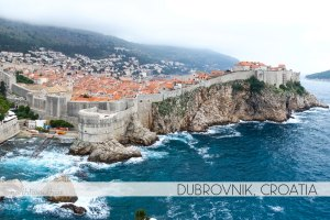 Dubrovnik, Croatia -- City Walls