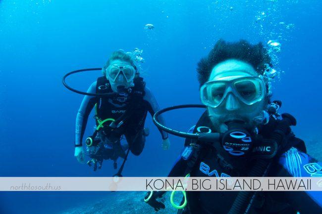Scuba Diving in Kona, Big Island, Hawaii