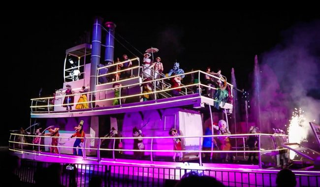 Fantasmic show at Disney's Hollywood Studios