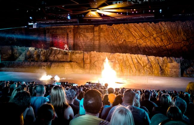 Indiana Jones Stunt Spectacular at Disney's Hollywood Studios