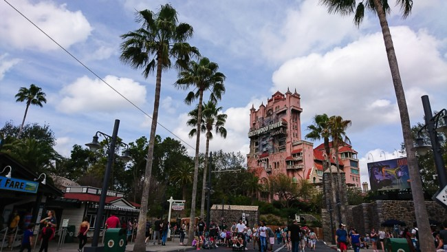 Disney's Hollywood Studios The Twilight Zone Tower of Terror ride