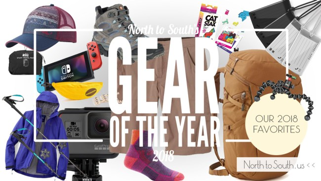 North to South's Gear of the Year 2018