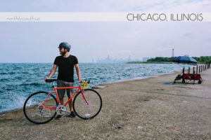 Biking in Chicago