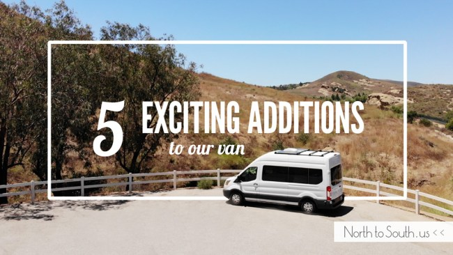 5 Exciting Additions to Our Ford Transit Camper Van