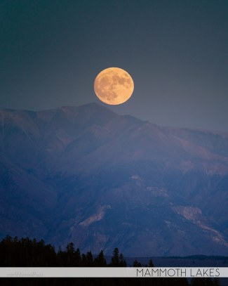 North to South's Year in Review 2019 | Mammoth Lakes Moonrise, Mammoth Photo Fest 2019