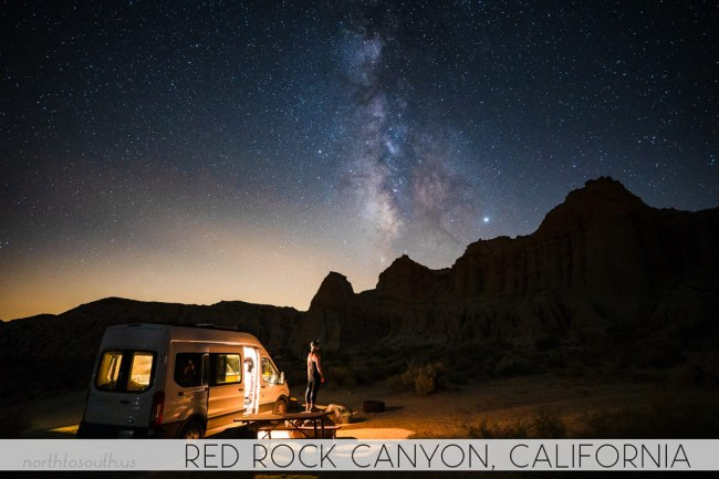 North to South's Year in Review 2019 | Milky Way at Red Rock Canyon, California