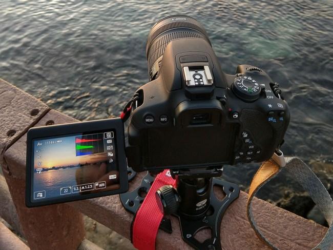 Platypod Ultra + Canon EOS 700D